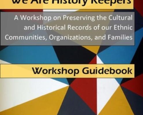 We are History Keepers Workshop Guidebook